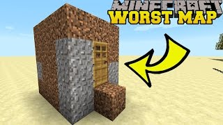 Download Minecraft: THE WORST MINECRAFT MAP EVER?! - BAD MAP - Custom Map Video