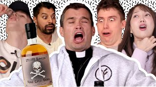 Download 1 MILLION SUB SPECIAL: English People try Naga Chilli Vodka!! Video