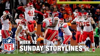 Download Sunday's Best (and Worst) Moments from Week 12 | Sunday Storylines | NFL Network Video