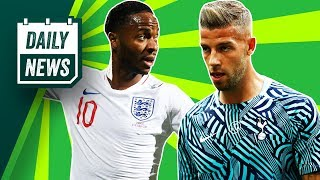 Download Barca BID for Alderweireld, Bolt in Champions League + England sink Spain ► Onefootball Daily News Video