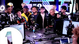 Download BROCKHAMPTON and BFF Jaden Smith chat with Annie Mac. Video