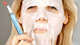 Download People Try An Injection Face Mask Video