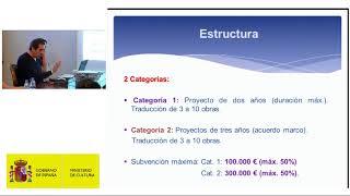 Download Jornada informativa sobre proyectos de traducción literaria. (I) Video