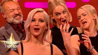 Download THE HUNGER GRAHAMS | Jennifer Lawrence's Best Moments on The Graham Norton Show Video