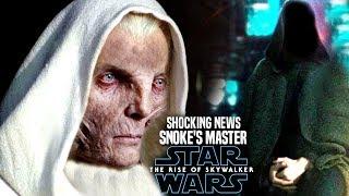Download The Rise Of Skywalker Snoke's Master! Shocking News Revealed (Star Wars Episode 9) Video