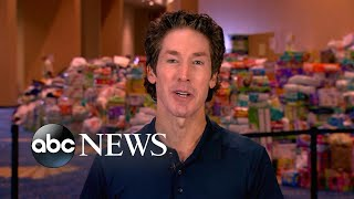 Download Joel Osteen explains decision to open Houston church after criticism Video