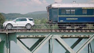 Download Land Rover Discovery Sport Pull 100-Tonne Train Video