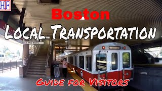 Download Boston | Local Transportation Guide - Getting Around | Travel Guide | Episode# 2 Video
