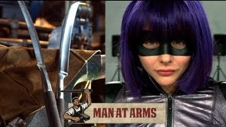 Download Hit Girl's Detachable Sword (Kick-Ass 2) - MAN AT ARMS Video