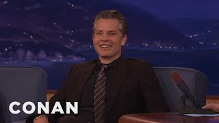 Download Timothy Olyphant Was A Teen Troublemaker - CONAN on TBS Video