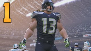 Download Madden NFL 17 My Career/Franchise Gameplay - Part 1 ″THE WHITE BEAST MODE!″ (Xbox One Gameplay) Video