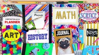 Download DIY Back To School Notebook Ideas! 10 EASY ways to spice up boring notebooks! GlitterForever17 Video