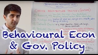 Download Behavioural Economics and Government Policy (Nudge Policies) Video