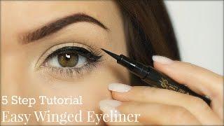 Download Eyeliner Tutorial | 5 Steps | TheMakeupChair Video