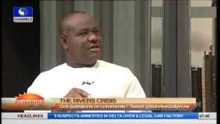 Download How My Disagreement With Governor Amaechi Began - Wike Video