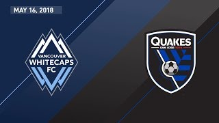 Download HIGHLIGHTS: Vancouver Whitecaps FC vs. San Jose Earthquakes | May 16, 2018 Video