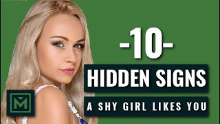 Download How to Tell if a SHY GIRL Likes You - 10 HIDDEN, but Obvious Signs She WANTS You Video