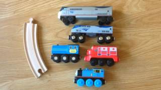 Download Amtrak Wooden Railway Toy Review Video