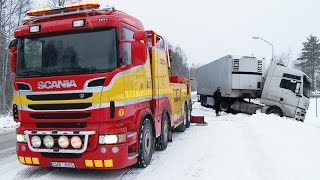 Download Scania 8x4 Boniface vs MAN - Heavy Recovery - Sweden Video