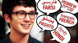 Download Teen Speaks Over 20 Languages Video