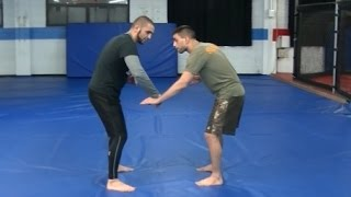 Download Simple and effective takedown for BJJ Fighters - Coach Firas Zahabi Video