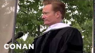 Download Conan O'Brien's 2011 Dartmouth College Commencement Address Video