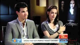 Download Taylor Lautner and Kristen Stewart Funny Moments Video