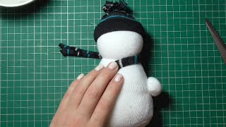 Download Day 1 - No Sew Sock Snowman Video