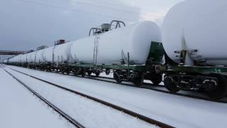 Download GE C36-7i-1527. Эстония, станция Нарва Video