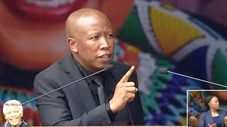 Download Angry Julius Malema At Winnie Mandela Funeral Video