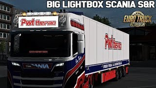 Download ✅ [ETS2 1.32] Big Lightbox Scania S&R Next Gen Video