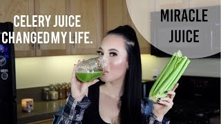 Download CELERY JUICE CHANGED MY LIFE IN 6 MONTHS   Easy, No Juicer Needed, Amazing Benefits 2019 Video