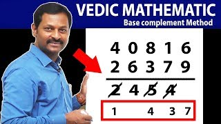 Download Subtraction Tricks IN Vedic Maths | Faster then Calculations | SumanTV Education Video