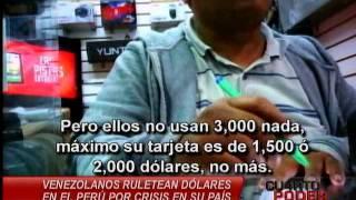 Download Cuarto Poder: Venezolanos se enriquecen en Perú con dólares subsidiados Video