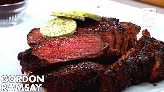 Download Philips Airfryer Gordon Ramsay Coffee & Chili-Rubbed Steak Recipe Video