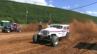 Download Truck Drags 300' @ Mountaineer Motocross Video