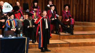 Download Lee Evans citation and speech from University of East London's Graduation ceremony 2010 Video