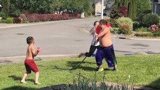 Download Summer is here | Water Balloon Fight | TigerFamilyLife~ Video