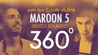 Download 360°A Cappella MAROON 5 Medley!!! (Sam Tsui + Peter Hollens) | Sam Tsui Video