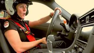 Download Sabine Schmitz on the Porsche 991 GT3 - Nurburgring Video