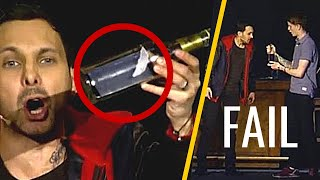 Download Magic Tricks That Went Horribly Wrong | Magic Fails 😵 | Top list Video