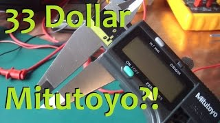 Download BOLTR: $33 Mitutoyo Calipers, too good to be true? Video