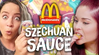 Download McDonald's Rick and Morty Szechuan Sauce TASTE TEST! (Cheat Day) Video