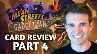 Download (Hearthstone) Mean Streets of Gadgetzan: Card Review Part 4 Video