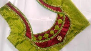 Download paithani saree blouse design Video