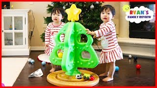 Download Twin Babies First Christmas Tree Toy from Step2 with Choo Choo Train! Video