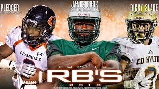 Download Top 10 Running Backs in the 2018 Class Video