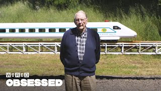 Download Meet the 89-Year Old Who Built a Train in His Backyard | WIRED Video
