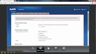 Download ZyXel Wireless Settings Tutorial Video