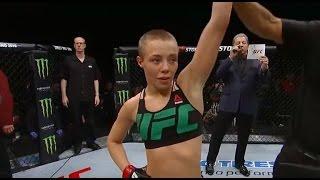Download Fight Night Las Vegas: Rose Namajunas Octagon Interview Video